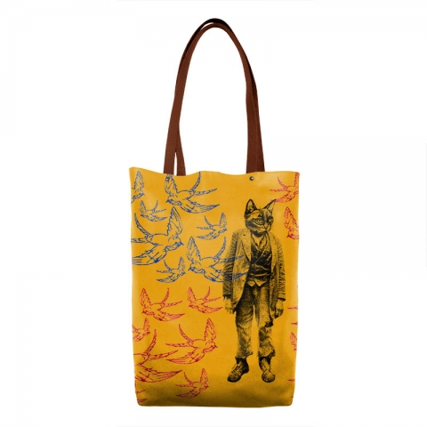 Sac-jaune-chat