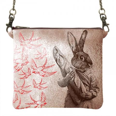 Bandoulière-doré-lapinr