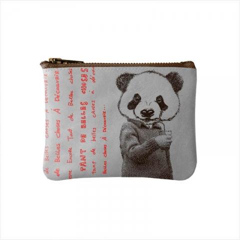 Porte-monnaie-gris-panda