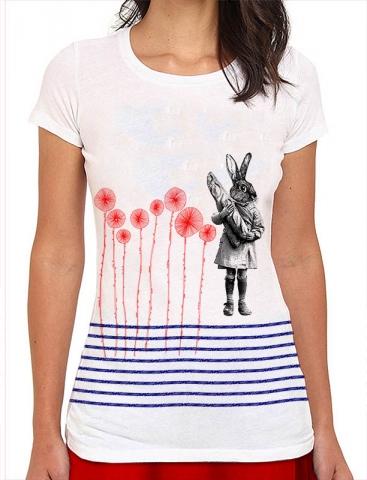 T-shirts lapinr