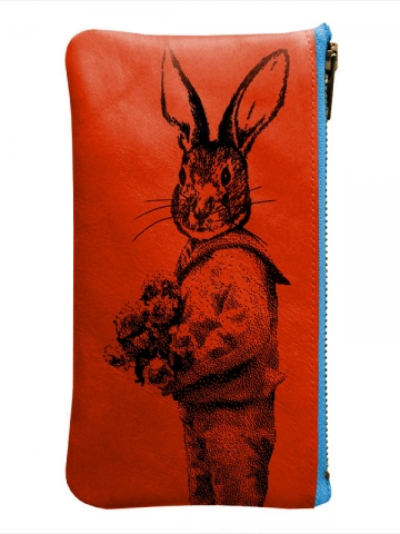 Trousse-orange-lapin