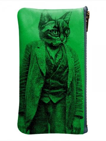 Trousse-vert-chat
